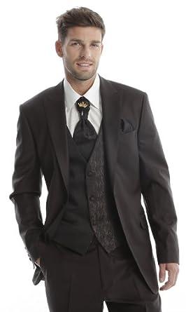 Costume Complet Homme Mariage 7 pièces  Amazon.fr  Vêtements et ... f63583e3228