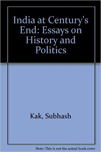 amazon com at century s end essays on history and politics  amazon com at century s end essays on history and politics 9788185990149 subhash kak books