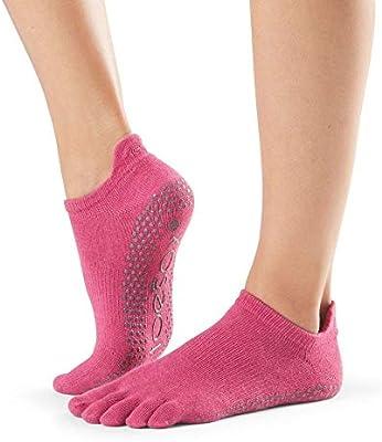 Toesox Full Toe Low Rise Calcetines de Yoga, Unisex Adulto
