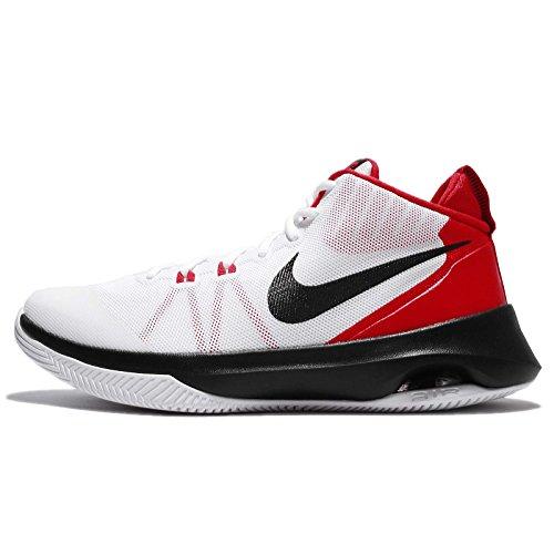 Nike Mens Air Versitile, Bianco / Nero-università Rosso Bianco / Nero-università Rosso