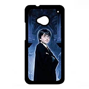 Handsome Harry Potter Phone Case For Htc One M7,Harry Potter Htc One M7 Case,Black Hard Plastic Case