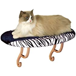 K&H Manufacturing Kitty Sill 14-Inch by 24-Inch Zebra