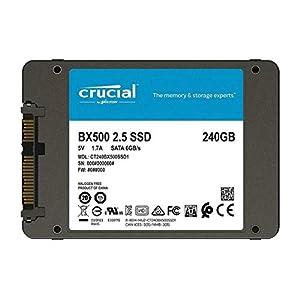 Crucial Bx500 240Gb Client Drive - 3D Nand Sata 2.5 Ssd 418IC1i mML. SS300