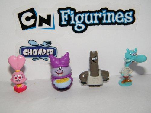 Chowder Mini Figure Nickelodeon Vending Toy Set (Cartoon Figure)
