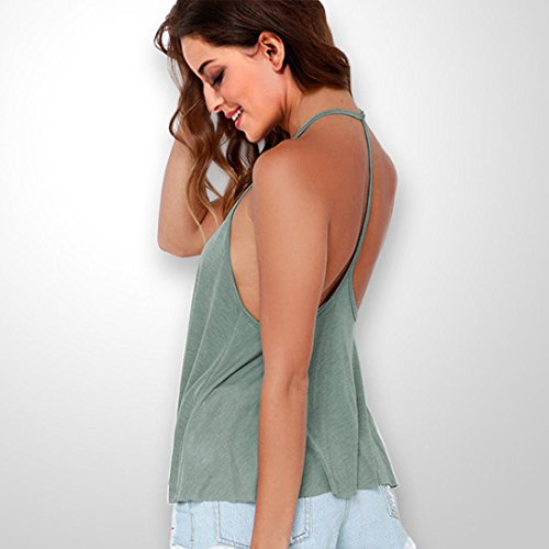 Aimee7 Camisola Camisetas Mujer Chaleco Camiseta Verano sin Ropa s Chic mangas Sin mangas aqaw0xP