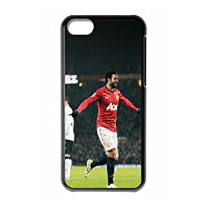 iPhone 5c Cell Phone Case Black Manchester Utd Juan Mata D5A1DC