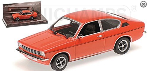 Used, Minichamps 1:43 Scale Opel Kadett C 1973 Car (Red) for sale  Delivered anywhere in USA