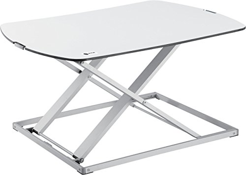 Star Ergonomics Ultra Slim Compact Standing Desk, White (SE03M1WW)
