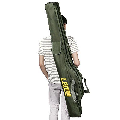 BlueStraw Fishing Rod Carrier Bag Folding Waterproof Fishing