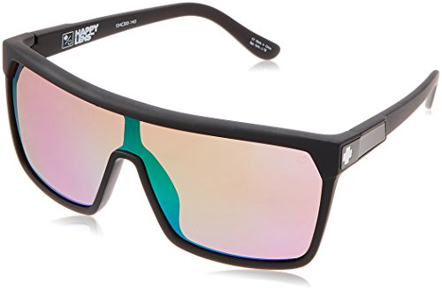 Spy Optic Flynn Lens Sunglasses, Matte Black/Bronze/Green Spectra