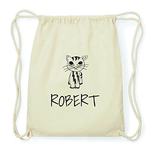 JOllipets ROBERT Hipster Turnbeutel Tasche Rucksack aus Baumwolle Design: Katze RSsls6
