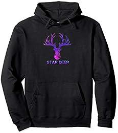 Star Deer Hoodie