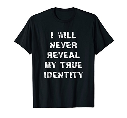 Funny Undercover Detective Spy Secret Agent T-Shirt For -