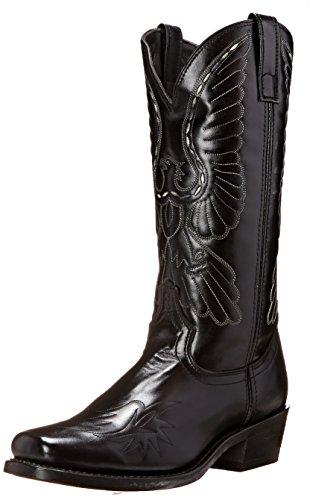 (Laredo Men's Gainesville Western Boot, Black, 13 D US)