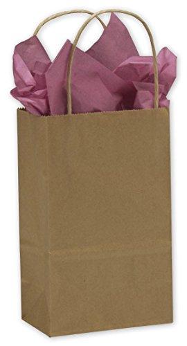 Kraft Paper Shoppers Mini Cub 5 1/4 x 3 1/2 x 8 1/4 (Cub Shoppers)