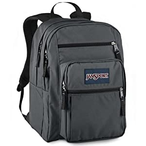 JanSport Big Student Backpack(Forge Grey, One Size)