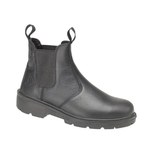 Unisex Boot On Steel Boots Amblers Dealer FS116 Pull Black Y1qwSRSP