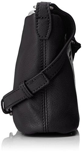 with Leather Berlin Liebeskind Front Women's Black Broadwayf8 Pocket Crossbody XwgxxA71q