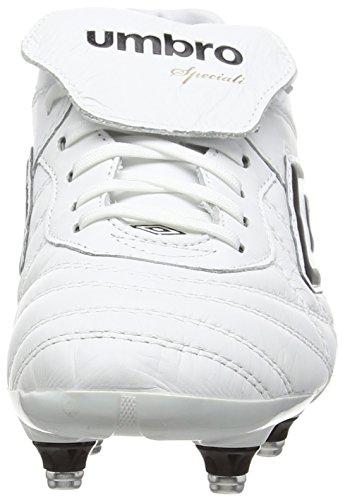 Umbro Speciali Eternal Pro Sg - Botas de fútbol Hombre Blanco - White (White/Black/Clematis Blue)