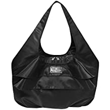 6 Pack Fitness Asana Meal Prep Yoga Tote Bag, Black, One Size