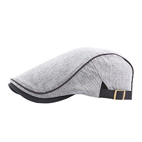 DongDong ♫2018 Casaul Hat, Unisex Solid Vintage Adjustable Twill Cotton Baseball Berets Hat