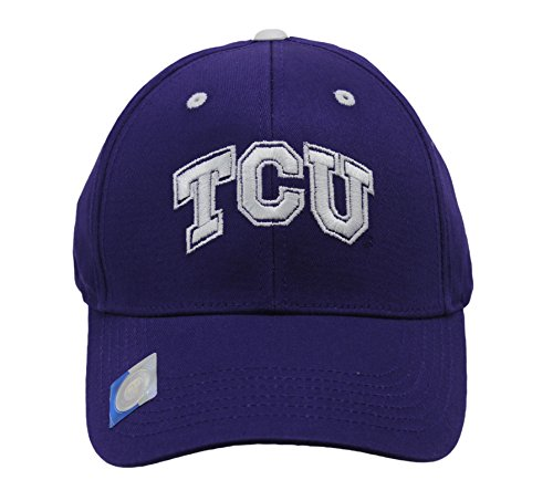 Captivating Headgear Men's Champ Fashion TCU Texas Christian Horned Frogs Embroidered Cap