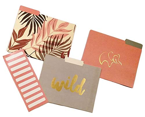 - C.R. Gibson Wild Free Decorative File Folders (COCF-18046), 9 ct