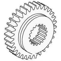 Transmission Pinion Gear - 4th- New, Massey Ferguson, 1868010M1