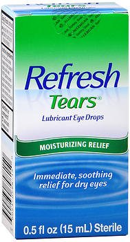 Refresh Tears Lubricant Eye Drops - 0.5 fl oz, Pack of 5