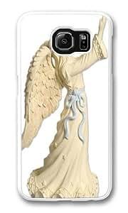 AngelStar Platinum Series Figurine Custom Samsung Galaxy S6/Samsung S6 Case Cover Polycarbonate White