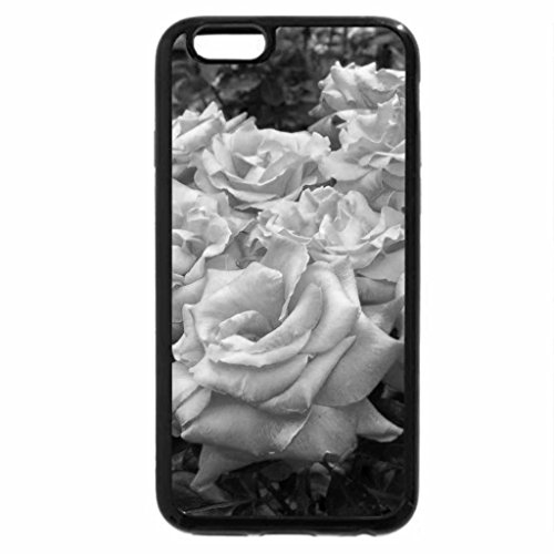 iPhone 6S Case, iPhone 6 Case (Black & White) - Rose heaven