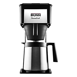 BUNN BT Velocity Brew 10-Cup Thermal Carafe Home Coffee Brewer, Black from BUNN