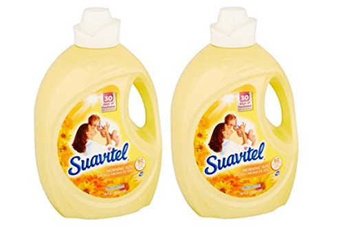 Suavitel Morning Sun Irresistible Fragrance Liquid Fabric Conditioner, 135 fl oz (pack of 2) ()