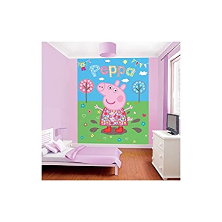 Peppa Pig Muddy Puddles Wallpaper Amazoncouk Kitchen Home