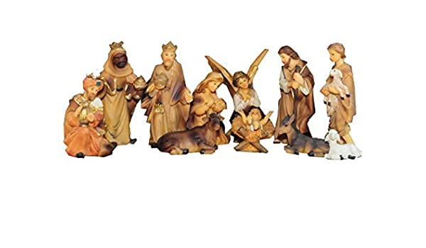 Bonito figuras para belén de madera accesorios, de gran calidad 3 Reyes Magos de Oriente País KFK de Ho en figuras de madera de estilo pintado a mano y barnizadas – präsise