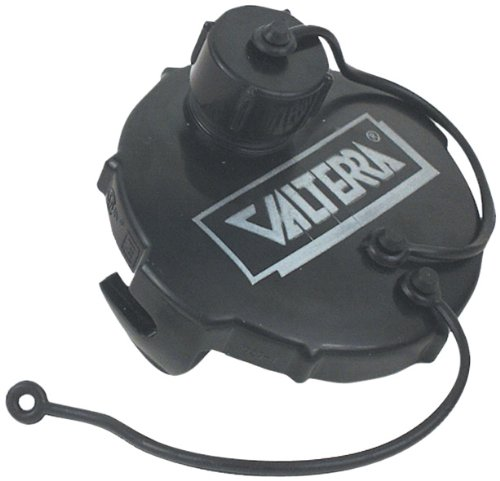 Valterra Products, Inc. T1020-1VP 3' Black Carded Termination Cap with Bayonet Hook and Hose Thread Connection Inc. T1020-1VP 3 Black Carded Termination Cap with Bayonet Hook and Hose Thread Connection