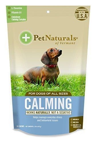 Pet Naturals of VT Calming Supplements for Dogs 30 Chews (Pet Naturals Extra Strength compare prices)