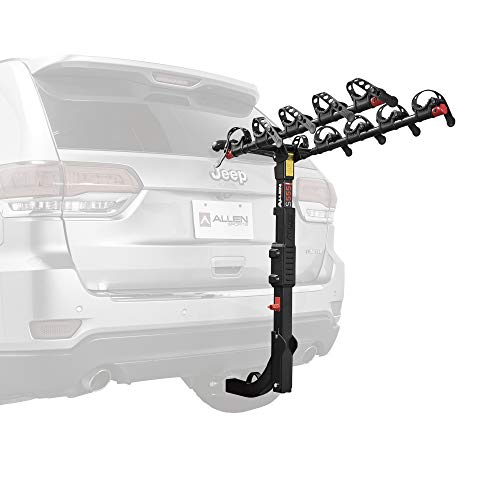 (Allen Sports Premier Hitch Mounted 5-Bike Carrier)