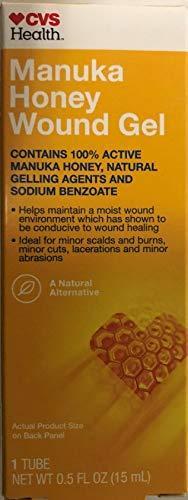 Manuka Honey Wound Gel NET WT 0.5 FL OZ (4 Pack) ()