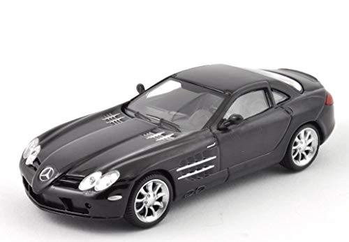 Mercedes-Benz SLR McLaren Black 2003 Year 1/43 Scale Hypercar Collectible Diecast Model Car