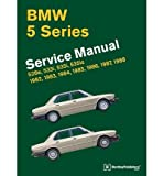 [ BMW 5 Series (E28) Service Manual: 1982, 1983, 1984, 1985, 1986, 1987, 1988: 528e, 533i, 535i, 535is ] By Bentley Publishers ( Author ) [ 2011 ) [ Hardcover ]