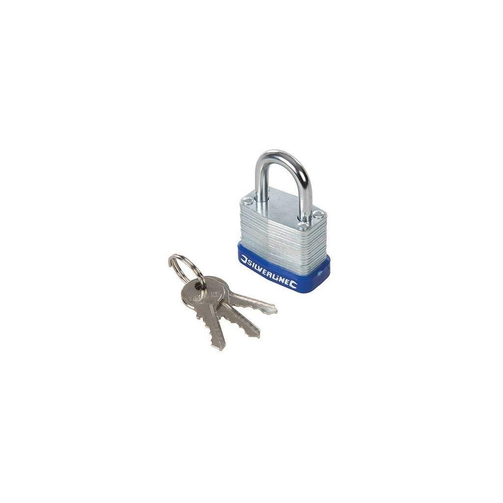 Silverline Tools SILVERLine 588272/laminiert Vorh/ängeschloss 30/mm