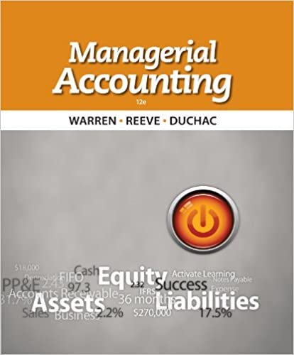 Amazon managerial accounting ebook carl s warren james m amazon managerial accounting ebook carl s warren james m reeve jonathan duchac kindle store fandeluxe Choice Image