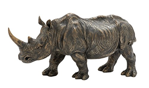 Deco 79 Sturdy & Exclusive Rhino Figurine