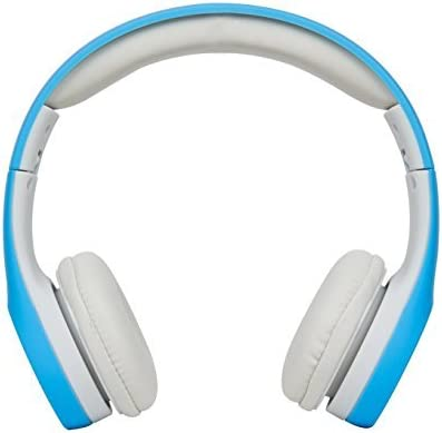 AMALEN Premium Volume Limited Control Wired Headphones with Microphone Stereo Lightweight Adjustable Foldable Headset for Kids