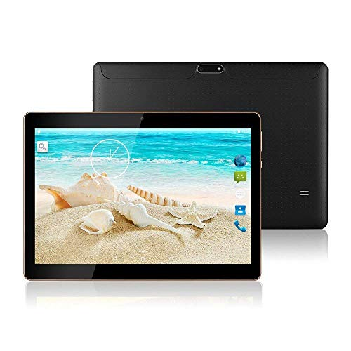 10.1″ Inch Android 8.1 Tablet PC,3G Unlocked Phablet 4GB RAM 64GB Storage with Dual sim Card Slots and Cameras,Tablet PC with WiFi,Bluetooth,GPS TYD-107(Black)