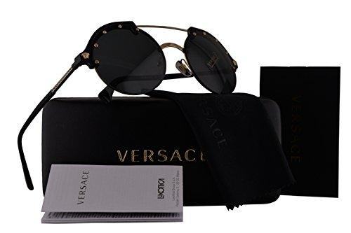 0eb8c1624b Versace VE4337 Sunglasses Black w Gray Lens GB187 VE 4337 - Buy Online in  Oman.
