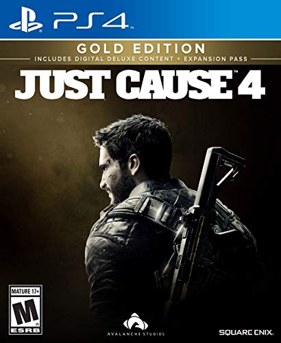 Just Cause 4: Gold Edition PlayStation 4 12345