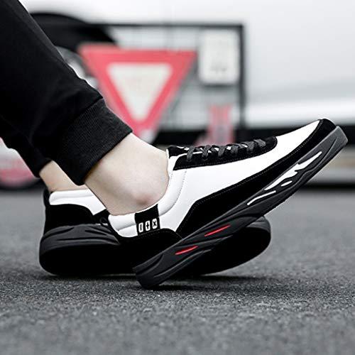 uomo scarpe uomo color casuale tendenza Color di da Khaki da tela estate WangKuanHome Black selvaggia scarpe 40 da Scarpe traspirante scarpe Size uomo qCgnfYw