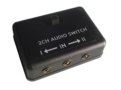 - 3.5mm audio switch AB A B 1/8